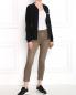 Укороченные брюки из хлопка с боковыми накладными карманами CLOSED  –  Модель Общий вид