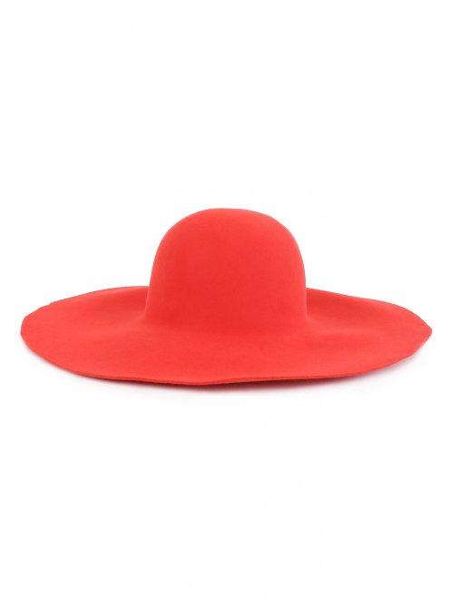 Шляпа из фетра с широкими полями - Обтравка2