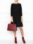 Платье из смешанной шерсти с рукавами 3/4 Dorothee Schumacher  –  МодельОбщийВид