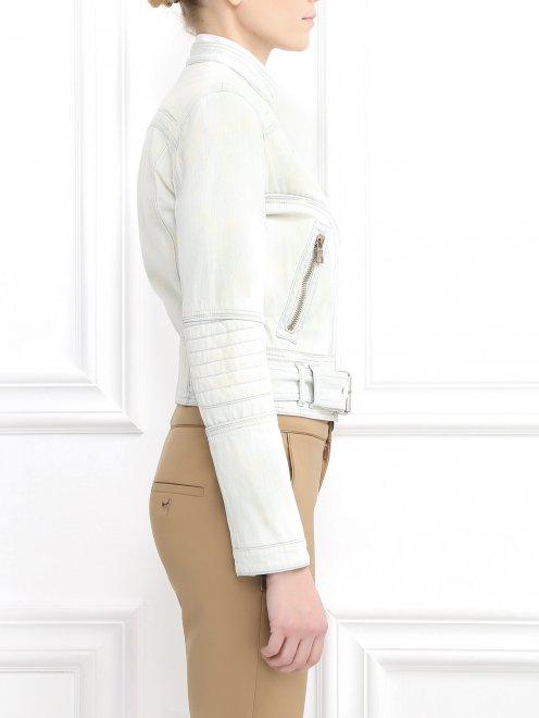 Куртка джинсовая  - Модель Верх-Низ2