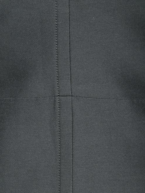 Платье-мини из смешанного шелка - Деталь