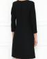 Платье из смешанной шерсти с рукавами 3/4 Dorothee Schumacher  –  МодельВерхНиз1