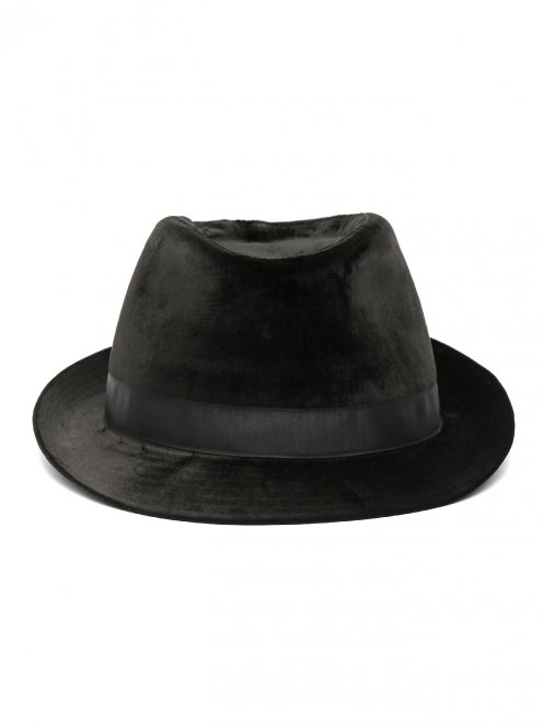 Шляпа из велюра - Обтравка1