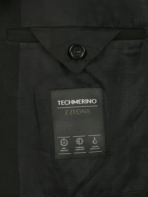 Пиджак однобортный из тонкой шерсти - Деталь2