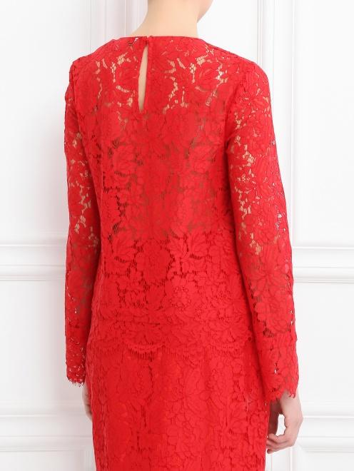 Блуза с кружевным узором - Модель Верх-Низ1