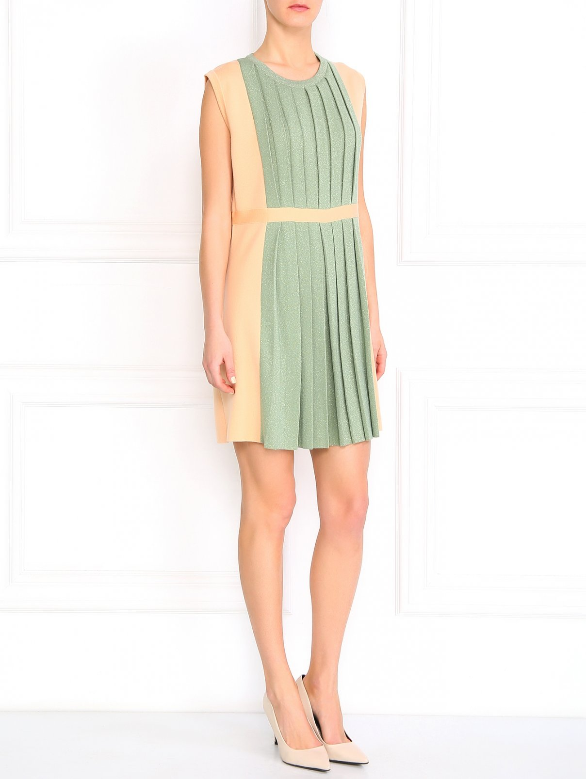 Платье из шерсти Moschino  –  Модель Общий вид