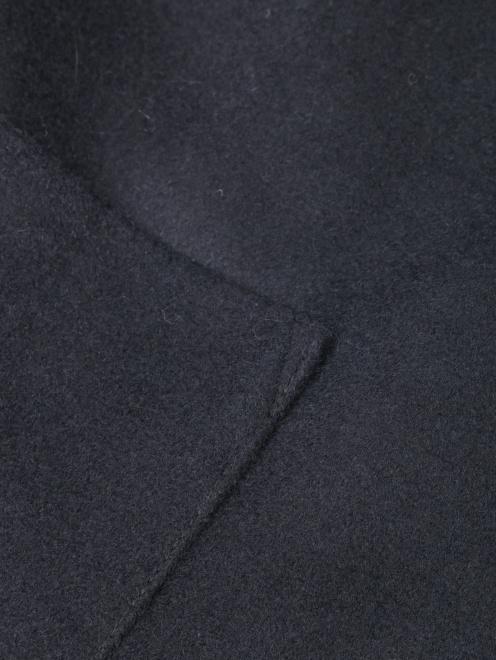 Пальто из шерсти с рукавами 3/4 - Деталь1