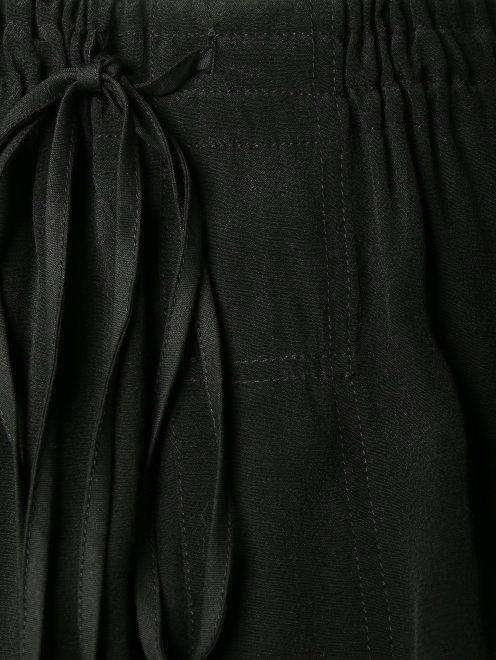 Шорты-кюлоты на резинке - Деталь1