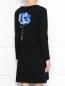 Трикотажное платье с цветочным узором Max&Co  –  МодельВерхНиз1