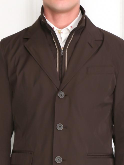 Пиджак с подкладом на молнии - Модель Общий вид1