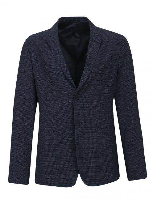 Пиджак из шерсти и шелка - Общий вид