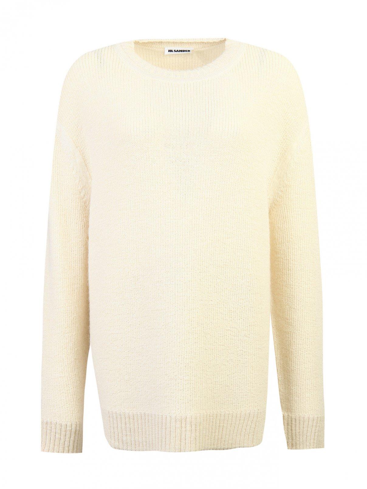 Джемпер из шерсти альпака объемной вязки Jil Sander  –  Общий вид