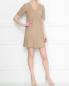 Платье из замши прямого кроя Weekend Max Mara  –  МодельОбщийВид