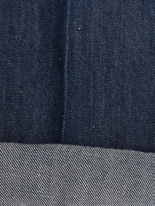 Джинсы-кюлоты с карманами - Деталь2