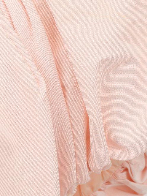 Платье-мини из хлопка - Деталь1