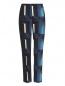 Укороченные узкие брюки с узором Kenzo  –  Общий вид