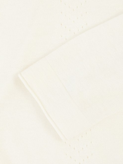 Джемпер из вискозы и нейлона с длинным рукавом - Деталь