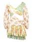Платье-мини с цветочным узором Zimmermann  –  Общий вид