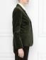 Жакет вельветовый с накладным карманом Brooks Brothers  –  МодельВерхНиз1