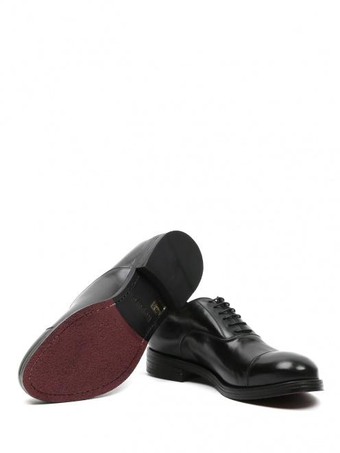 Ботинки из кожи - Обтравка5