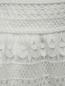 Юбка-трапеция из кружева Burberry  –  Деталь