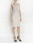 Платье с отделкой из кружева Alberta Ferretti  –  Модель Общий вид