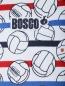 Футболка из фактурного хлопка с узором Bosco Sport  –  Деталь1