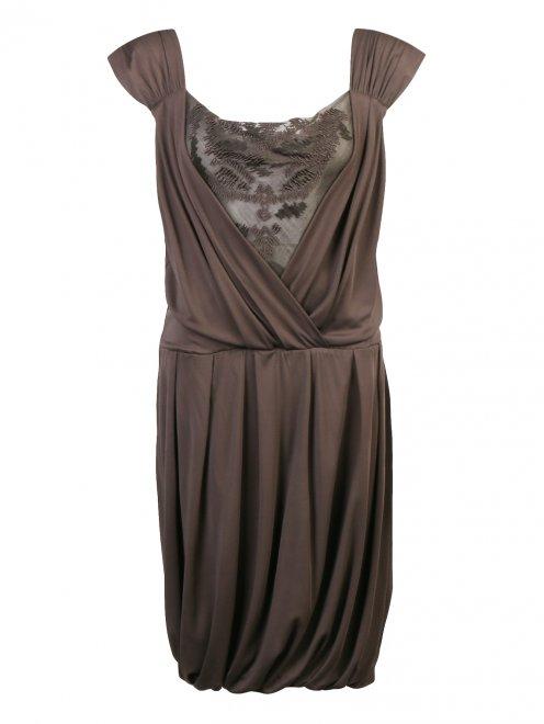 Платье без рукавов - Общий вид