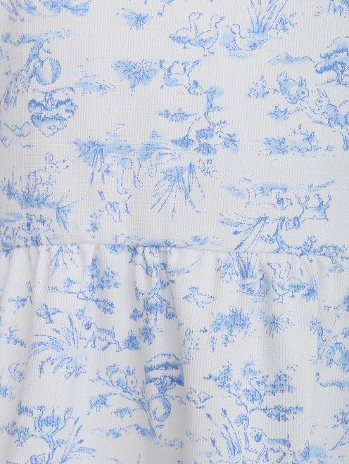 Платье-мини с длинным рукавом - Деталь
