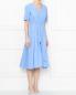 Платье из хлопка с запахом Weekend Max Mara  –  МодельВерхНиз