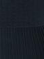 Платье из хлопка с узорной вязкой Brooks Brothers  –  Деталь