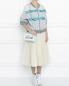 Сумка из кожи с принтом Moschino Couture  –  МодельОбщийВид