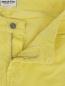 Зауженные брюки из микровельвета American Retro  –  Деталь