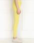 Зауженные брюки из микровельвета American Retro  –  Модель Верх-Низ2