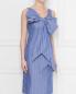 Платье из хлопка с узором полоска Moschino Boutique  –  МодельВерхНиз