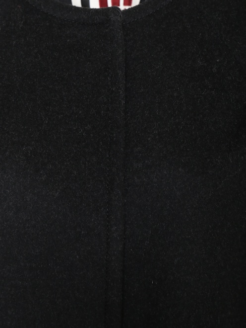 Однобортное пальто из шерсти - Деталь1