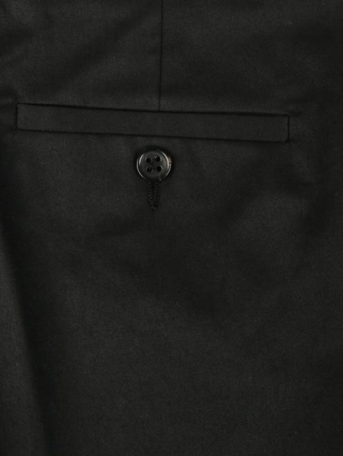 Укороченные брюки из хлопка зауженного кроя - Деталь1