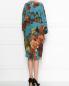 Платье из шелка с цветочным узором Antonio Marras  –  МодельВерхНиз1