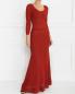 Платье-макси с рукавом 3/4 Alberta Ferretti  –  Модель Общий вид