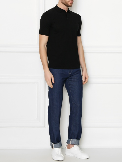 джинсы прямого кроя - Общий вид