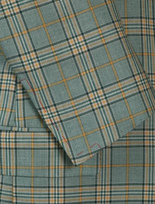 Пиджак из шелка и кашемира с узором - Деталь