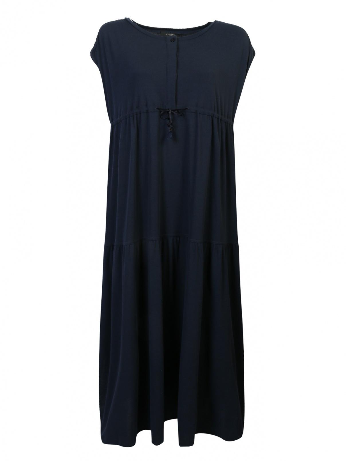 Платье трикотажное с воланами Weekend Max Mara  –  Общий вид