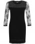 Платье с кружевной отделкой Moschino Boutique  –  Общий вид
