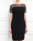 Платье с кружевом и полупрозрачной вставкой Antonio Marras  –  Модель Верх-Низ