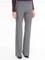 Шерстяные брюки с боковыми карманами Jil Sander  –  Модель Верх-Низ