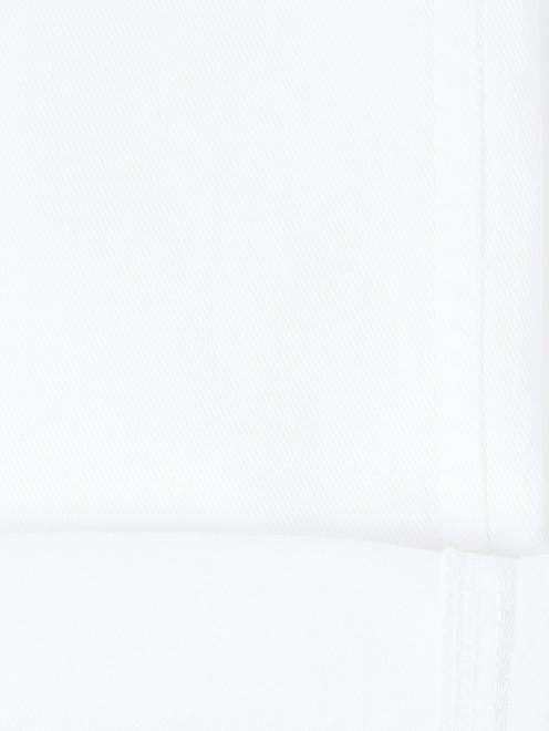 Джинсы прямого кроя с потертостями - Деталь2