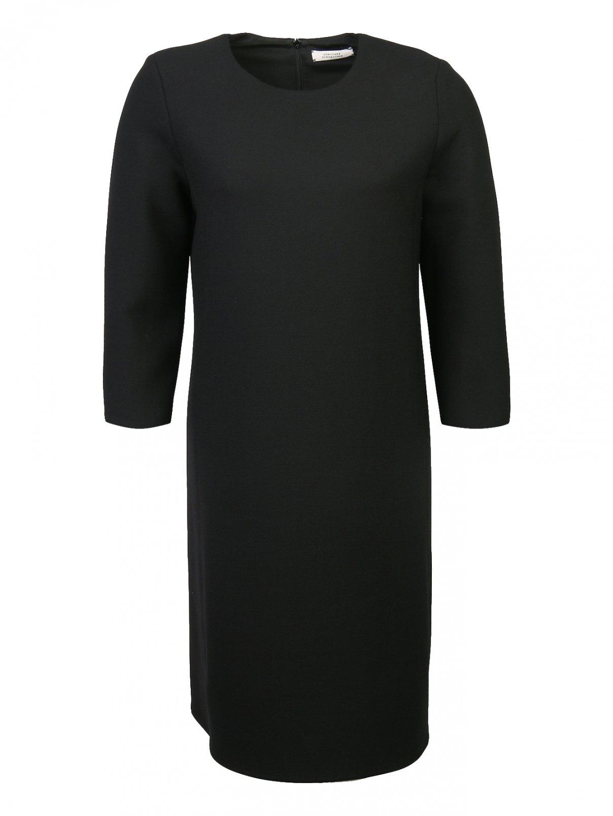 Платье из смешанной шерсти с рукавами 3/4 Dorothee Schumacher  –  Общий вид