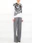 Свободные брюки из шерсти Barbara Bui  –  Модель Общий вид