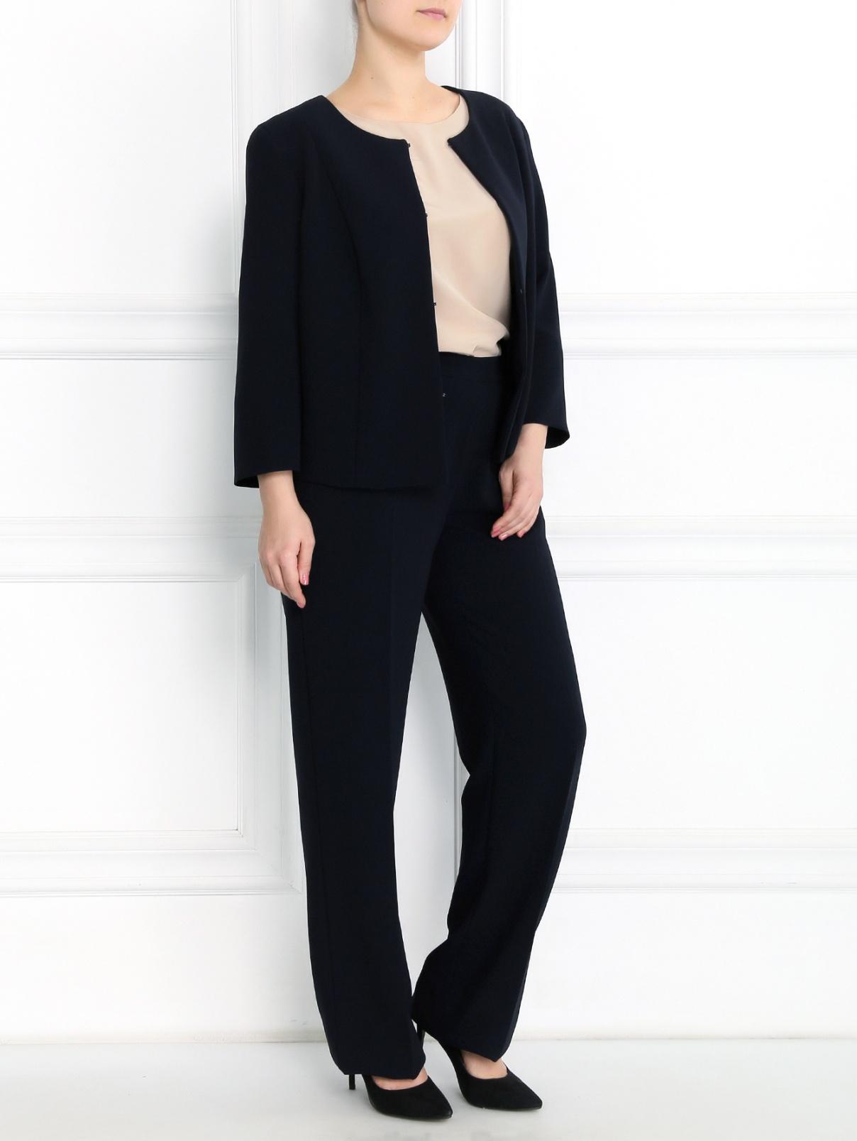 Классические прямые брюки Marina Rinaldi  –  Модель Общий вид