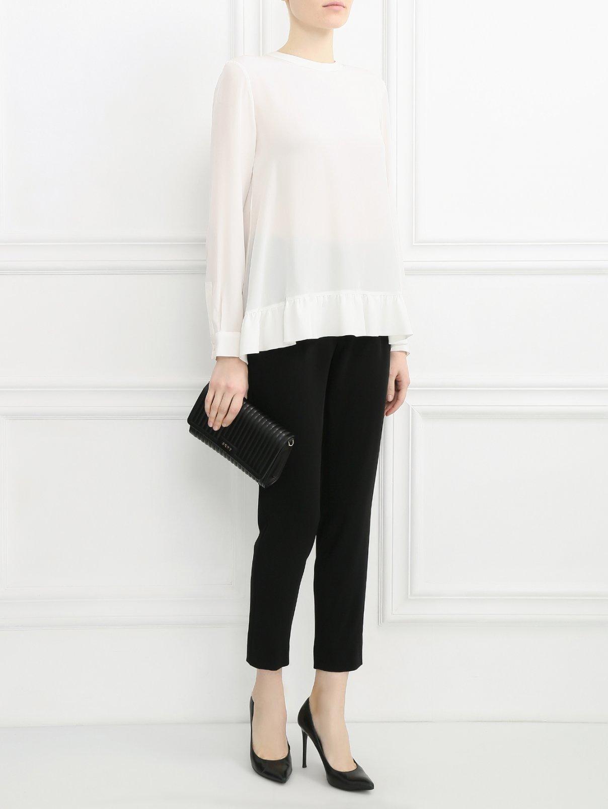 Блуза из шелка Rossella Jardini  –  Модель Общий вид  – Цвет:  Белый
